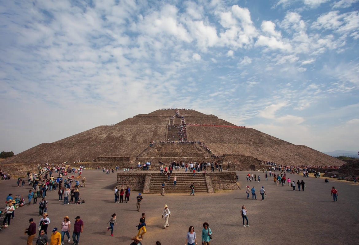 Le temple Teotihuacan