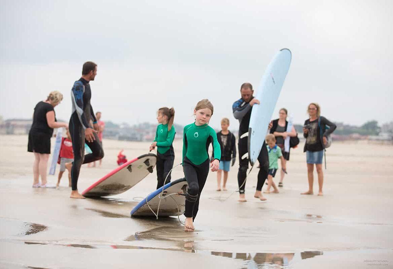 colonie de vacances surf